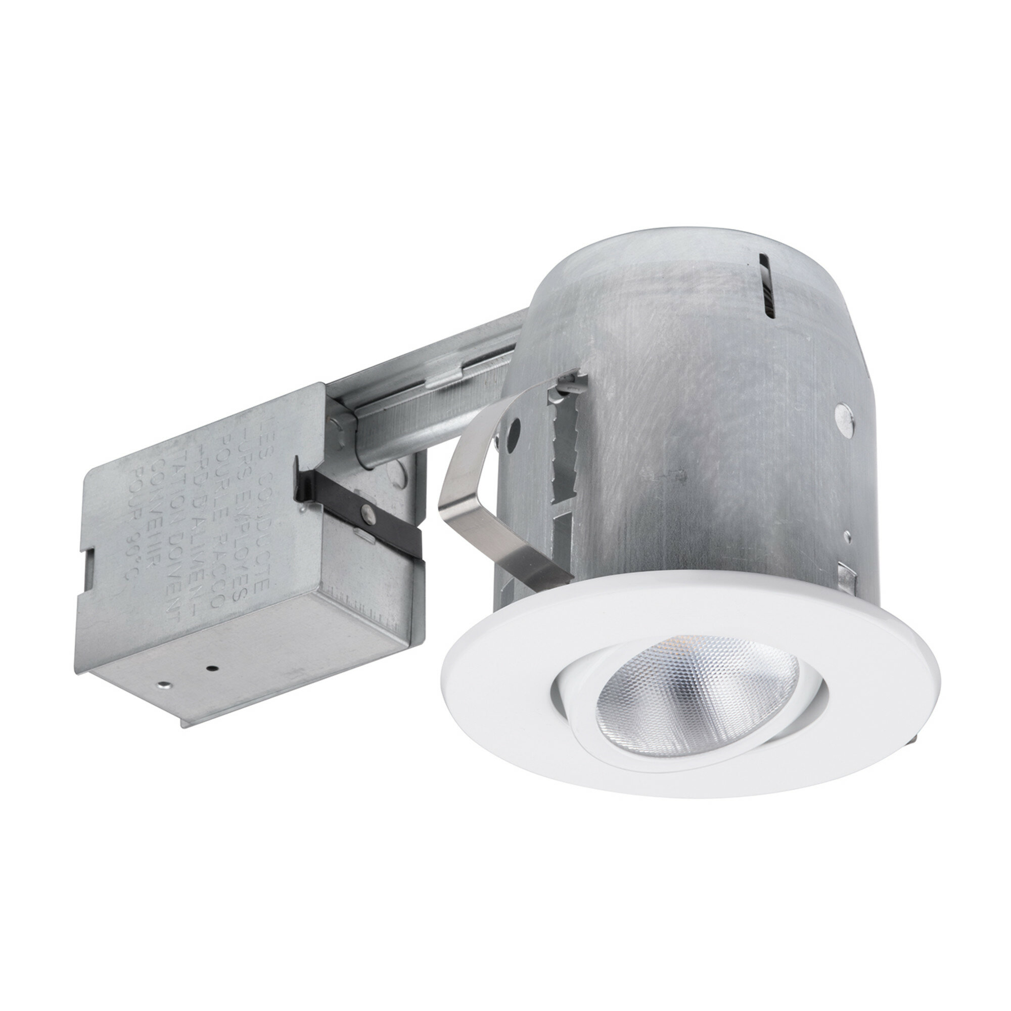 Swivel Round Trim 4 Recessed Lighting Kit