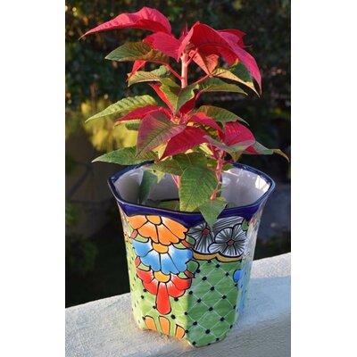 Meyer Ceramic Pot Planter Bloomsbury Market Size: 8.5 H x 8.5 W x 8.5 D