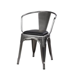 17 Stories Anni Metal Dining Chair (Set of 4)