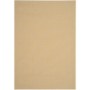 Rockbridge Yellow/Beige Indoor/Outdoor Area Rug