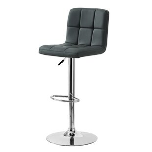 Geurie Adjustable Height Swivel Bar Stool..