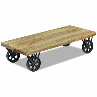 Neche Mango Wood Coffee Table By Laurel Foundry