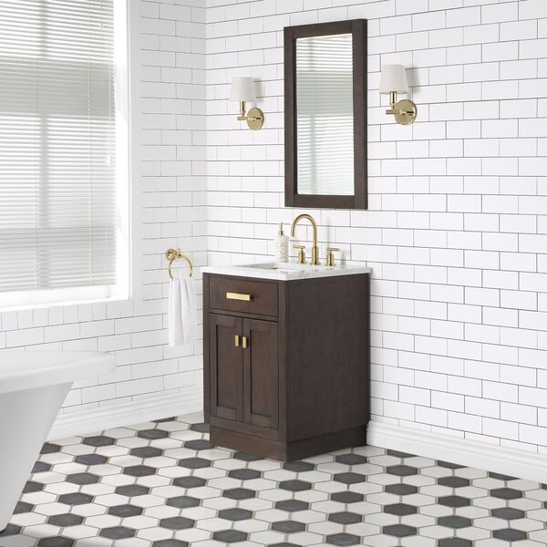 Chestnut Bathroom Vanity Wayfair