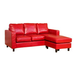 Red Corner Sofas You\'ll Love   Wayfair.co.uk