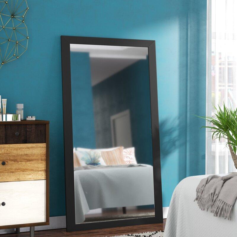 Corrigan Studio Alpharetta Rectangle Oversized Wall Mirror Reviews Wayfair