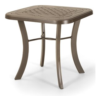 Square Cast Top End Table