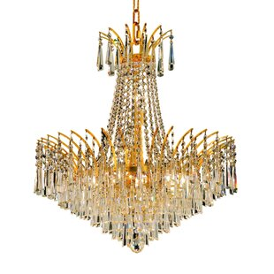 Everly Quinn Phyllida 11-Light Empire Chandelier