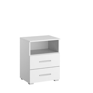 Compare Price Aditio 1 Drawer Bedside Table