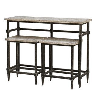Elaina Bistro 3 Piece Pub Table Set 17 Stories