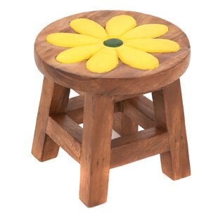 Flower Children's Stool By Just Kids