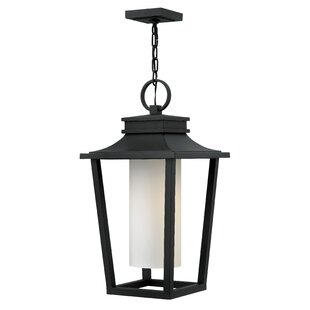 Compare prices Sullivan 1-Light Outdoor Hanging Lantern By Hinkley Lighting