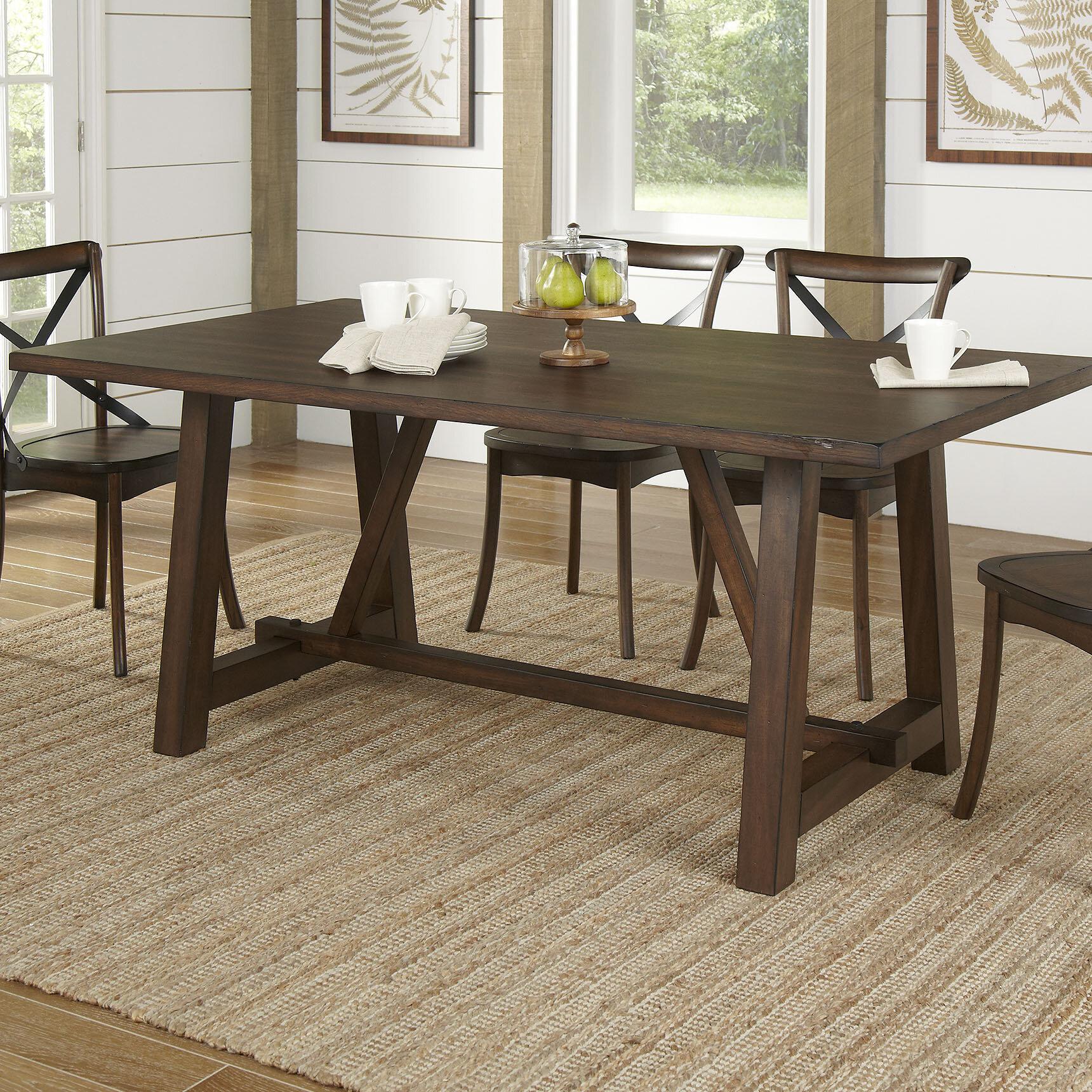 Birch lane romney rectangular dining table reviews birch lane