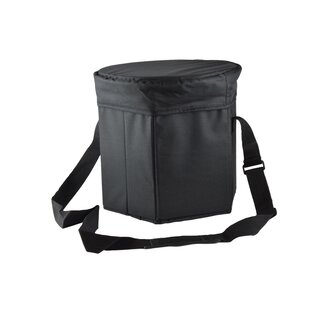 12 Qt. Black Cooler