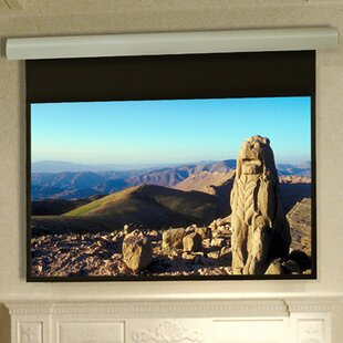Silhouette Series E Matt White Electric Projection Screen