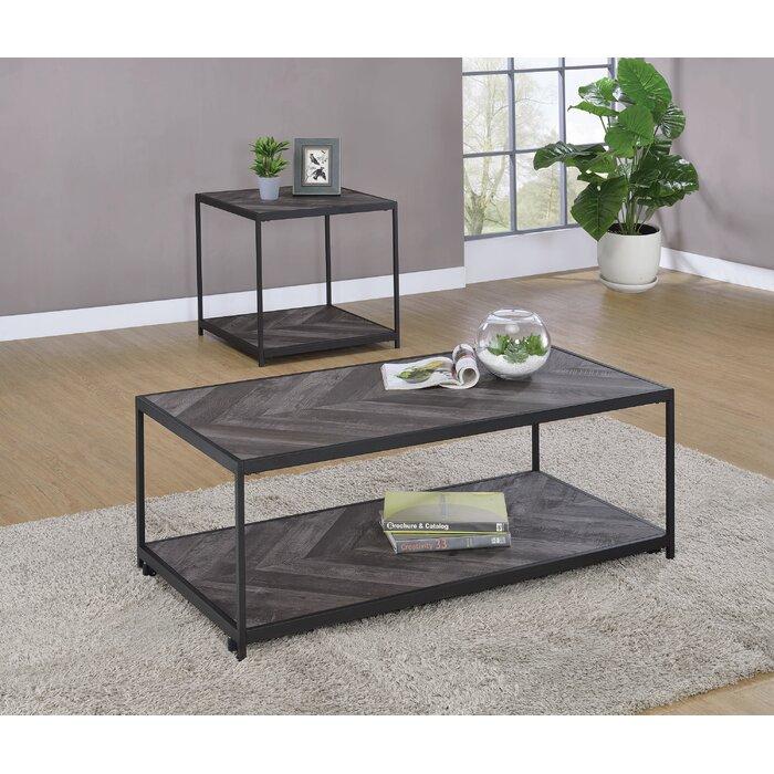 Stribling 2-pcs Living Room Table Set