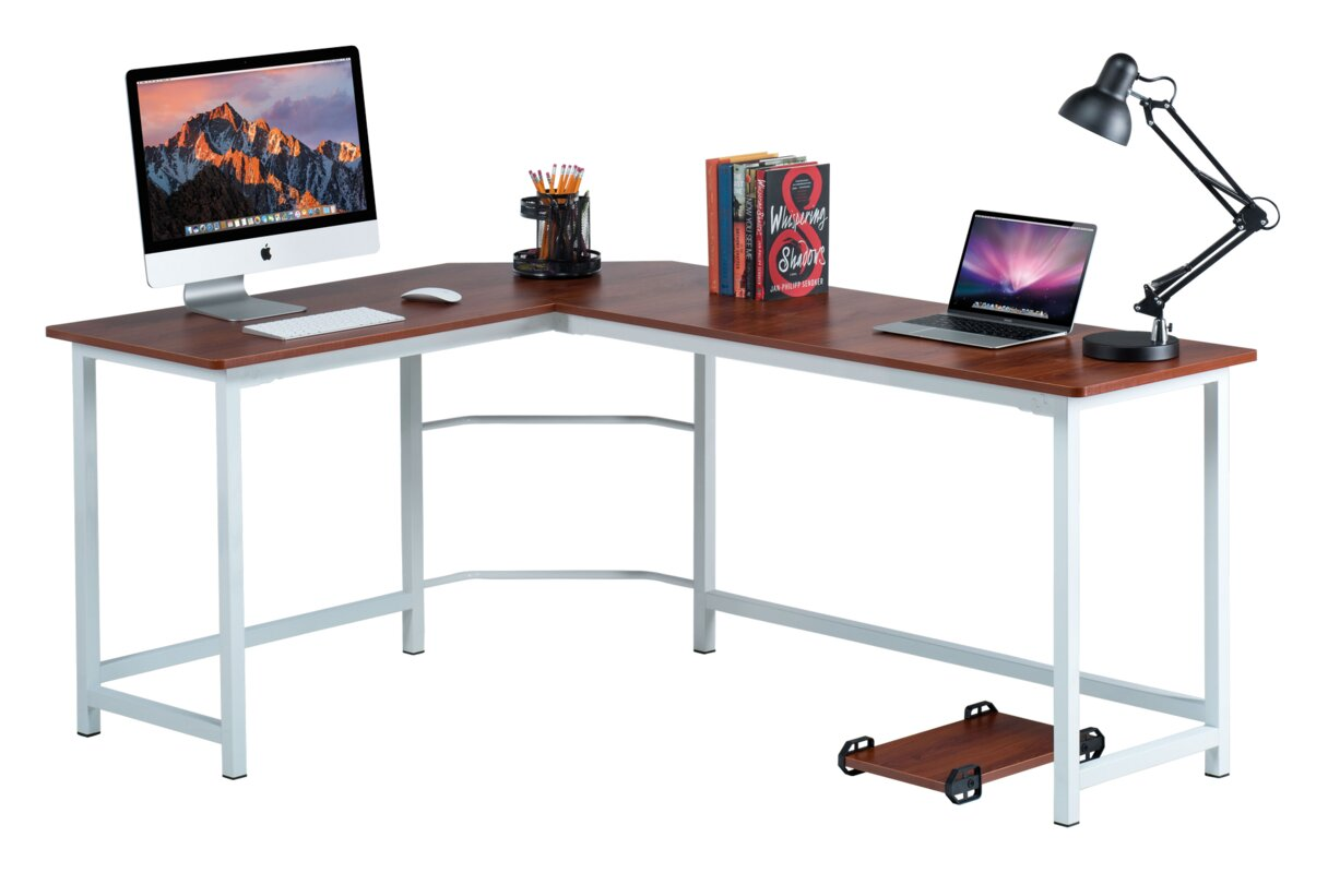 Ohioville Stylish L-Shaped Computer desk