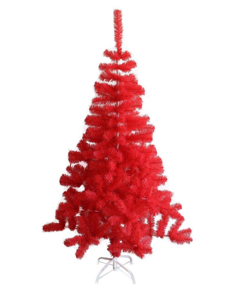 Pink Artificial Christmas Tree.Indoor Hot Pink Pine Artificial Christmas Tree