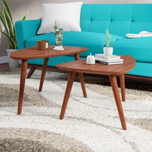 Read Reviews Cioffi 2 Piece Nesting Tables (Set of 2) by Corrigan Studio Reviews (2019) & Buyer's Guide