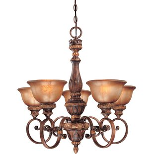 Fleur De Lis Living Dee 5-Light Shaded Chandelier