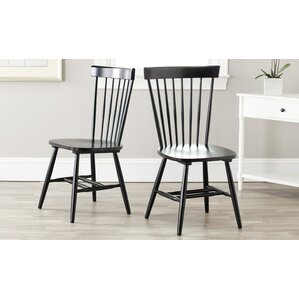 saintpierre solid wood dining chair set of 2