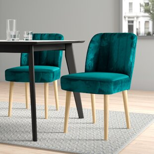 Lundberg Upholstered Dining Chair (Set Of 2) By Hykkon