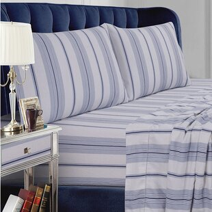 Stripe Cotton Sheet Set