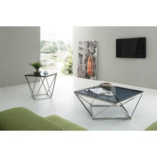 Nyla Vector 2 Piece Coffee Table Set by Wade Logan 2019 Sale