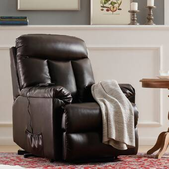 Ebern Designs Abbeygale 32 Wide Power Lift Assist Standard Recliner Reviews Wayfair