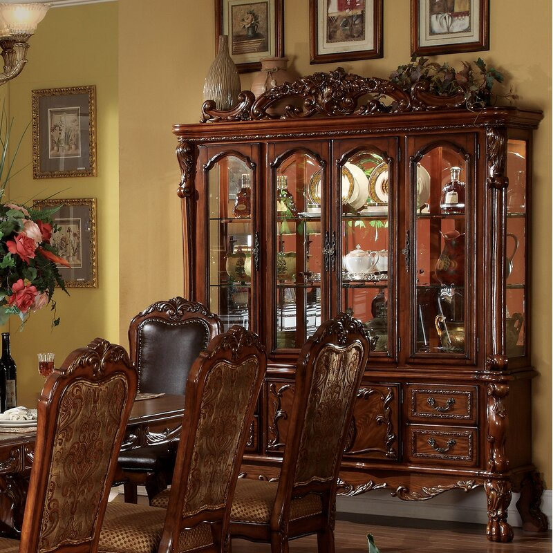 Vaisselier Etroit: Astoria Grand Welliver Lighted China Cabinet & Reviews