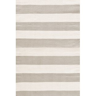 Catamaran Hand Woven Platinum/Ivory Indoor/Outdoor Area Rug