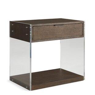 Dalton 1 Drawer Nightstand by Brownstone Furniture