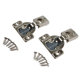 1 2 Compact Soft Close Concealed Hinge Set Of 10