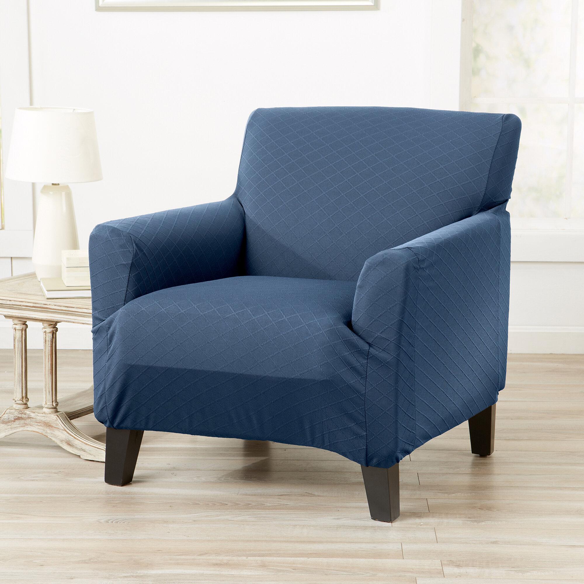 Box Shape Seat//Back Cover*Damask Chenille Chair 3D Cushion Case*Custom Size*Wk1