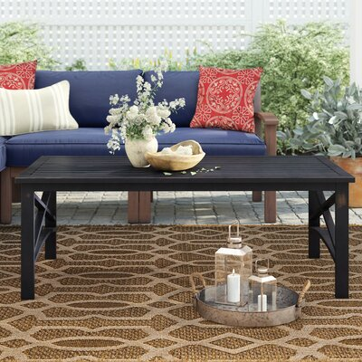Emmett Metal Coffee Table by Ivy Bronx New