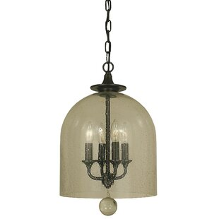 Framburg Hannover 4-Light Bell Pendant
