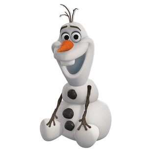 Frozen Olaf Sculpted Ceramic Cookie Jar by Vandor LLC 2019 Sale