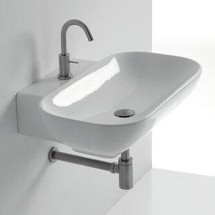 Affordable Ciotola Rectangular Vessel Bathroom Sink ByWS Bath Collections