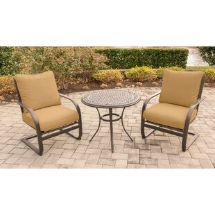 Rhonda 3 Piece Conversation Set with Cushions