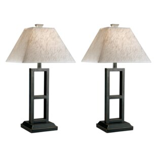 Deidra 27 Table Lamp with Empire Shade (Set of 2)