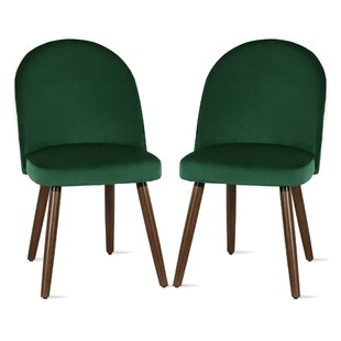 Burma Upholstered Dining Chair (Set of 2) Novogratz