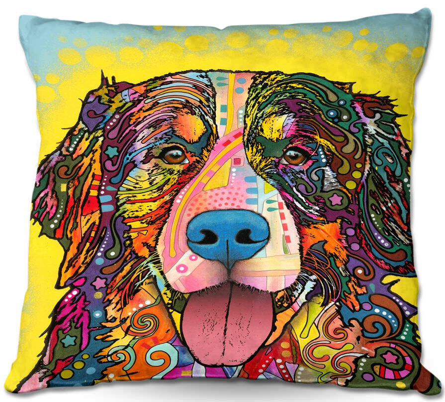 East Urban Home Dog Throw Pillow Reviews Wayfair