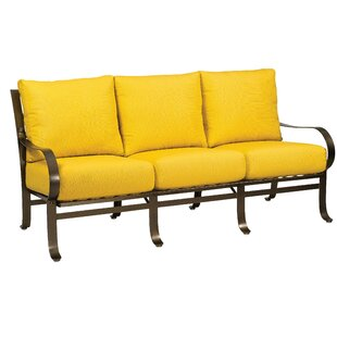 Cascade Sofa With Cushions by Woodard 2019 Sale