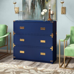 Norene 3 Drawer Chest By Everly Quinn