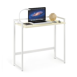 Craner Metal Frame Folding Desk by Symple Stuff Great Reviews