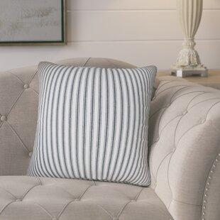 Pinion Stripes Cotton Throw Pillow (Set of 2)