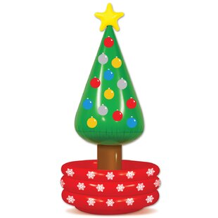 Inflatable Christmas Tree Cooler