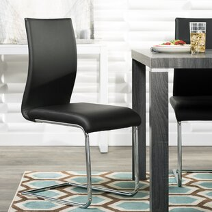 Alva Upholstered Dining Chair (Set of 2) Ebern Designs
