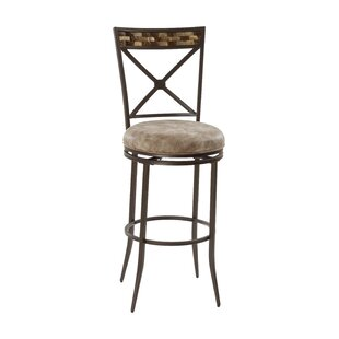 Comparison Corliss 30 Swivel Bar Stool by Red Barrel Studio Reviews (2019) & Buyer's Guide