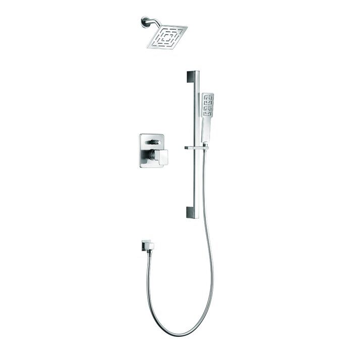 Dawn USA Acadia Rain Shower Head Complete Shower System & Reviews ...