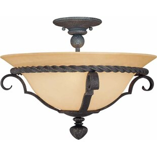 Sevila 3-Light Semi Flush Moun..